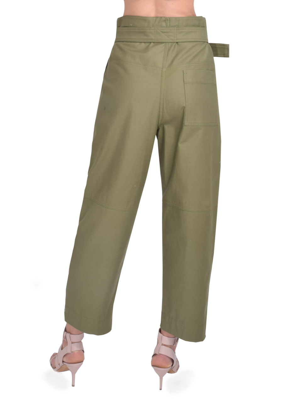 3.1 Phillip Lim Belted Cargo Pant in Olive