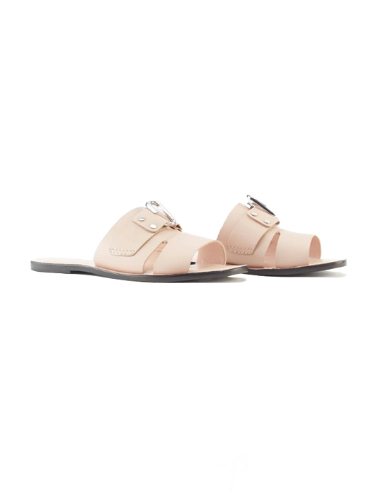 3.1 Phillip Lim Alix Flat Sandal in Blush