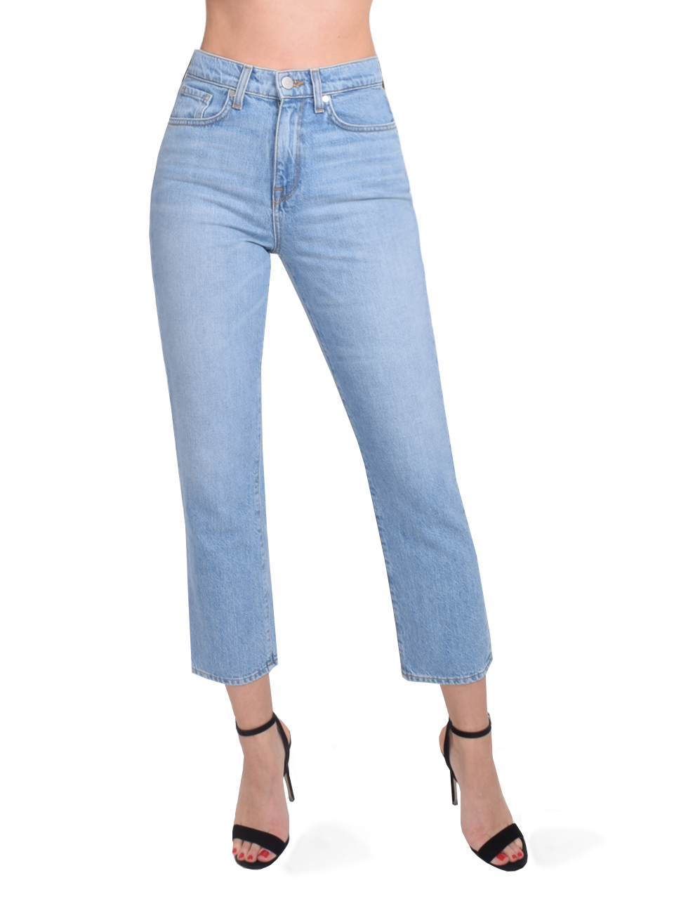 Vintage Straight Jeans In Skylight