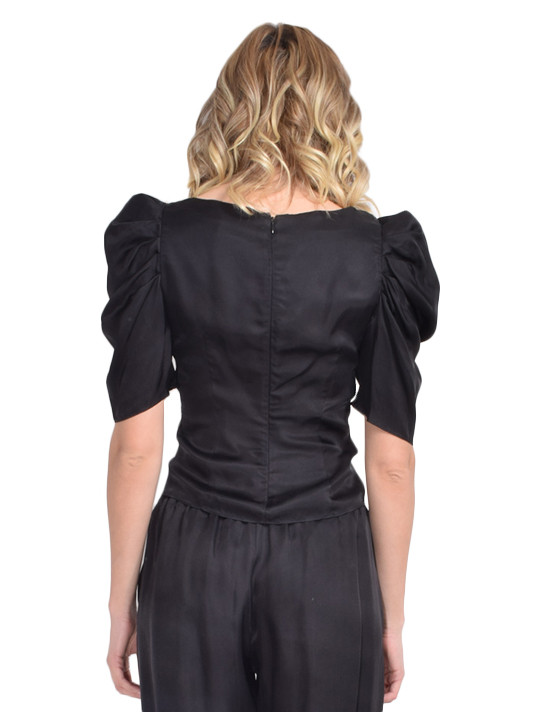 Betty Top In Black