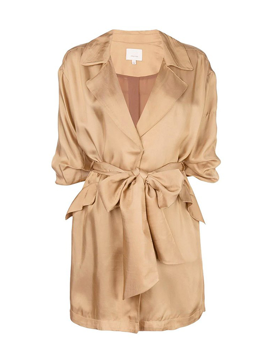 CINQ A SEPT Kiera Jacket in Gold