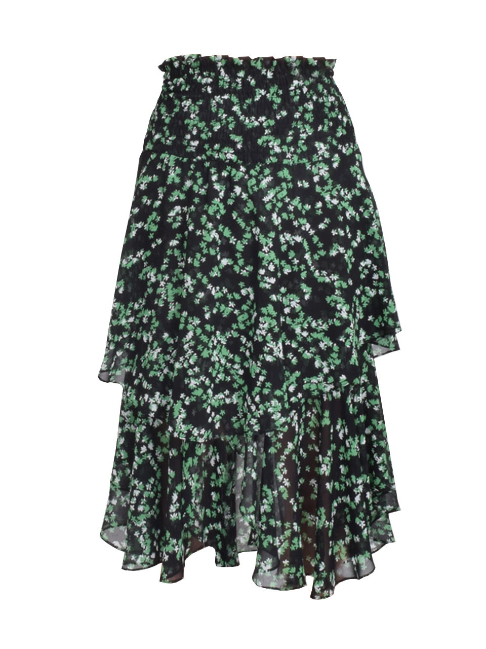 Sonora Midi Skirt in Green