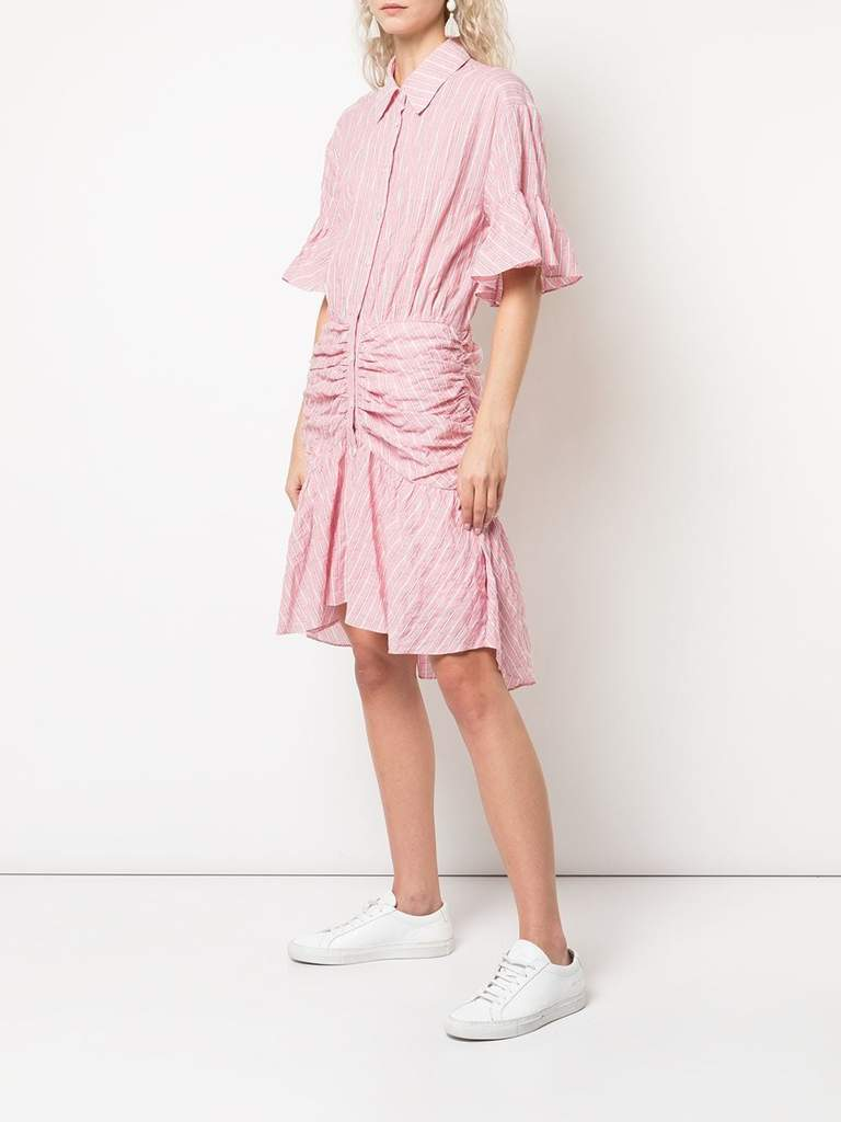 Cinq A Sept Asher Dress in Carnation Side View