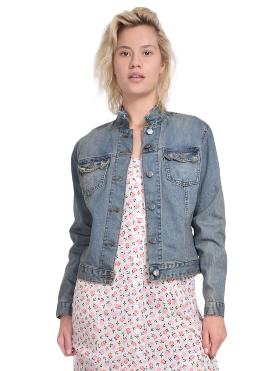 JET Cut Neck Jean Jacket Front View  X1https://cdn11.bigcommerce.com/s-3wu6n/products/33185/images/109663/146__12830.1590715750.244.365.jpg?c=2X2