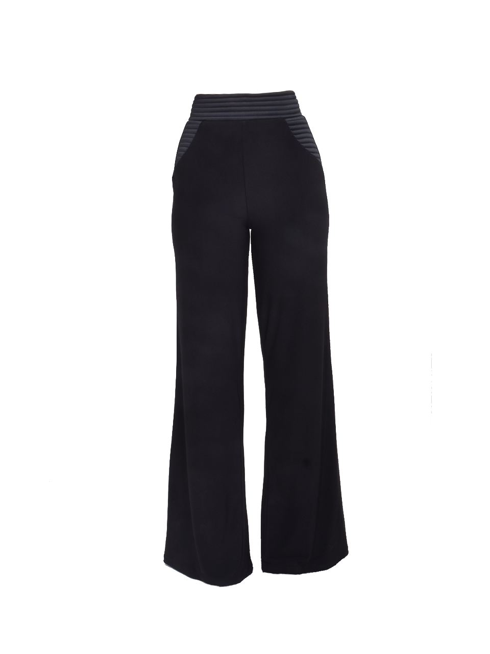 Zhivago Ready Wide Leg Pant in Black Product Shot
