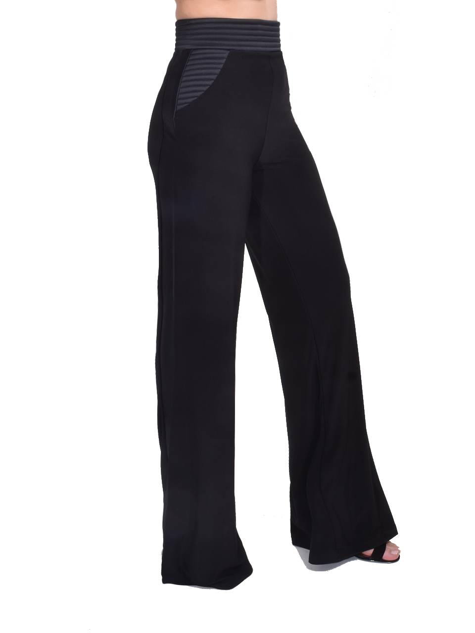 Zhivago Ready Wide Leg Pant in Black Side View