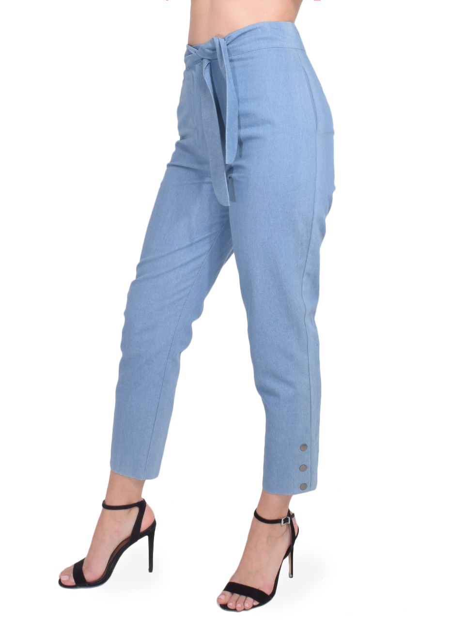 Karina Grimaldi Stella Denim Pants Side View