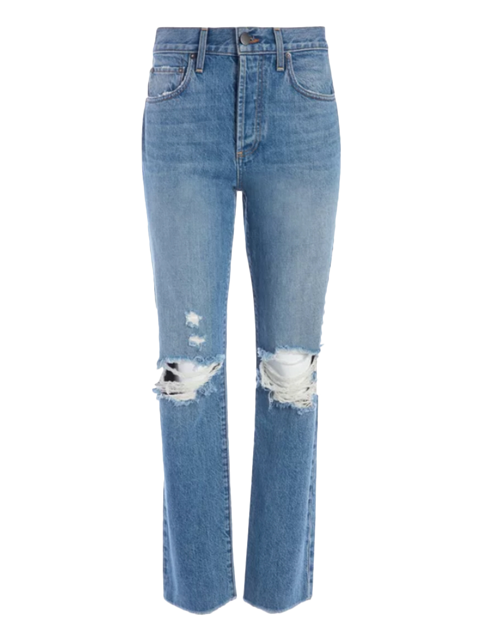 ALICE + OLIVIA Amazing High Rise Boyfriend Jean in Not Yours Product Shot