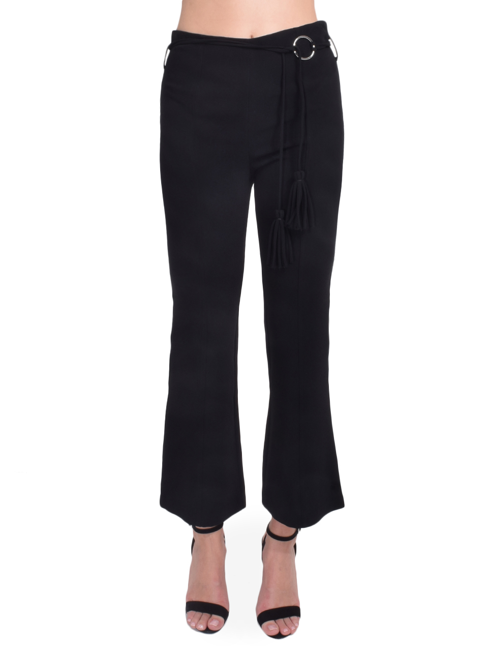 Cinq à Sept Avril Pant in Black Front View  X1https://cdn11.bigcommerce.com/s-3wu6n/products/33216/images/109560/92__60082.1590630093.244.365.jpg?c=2X2