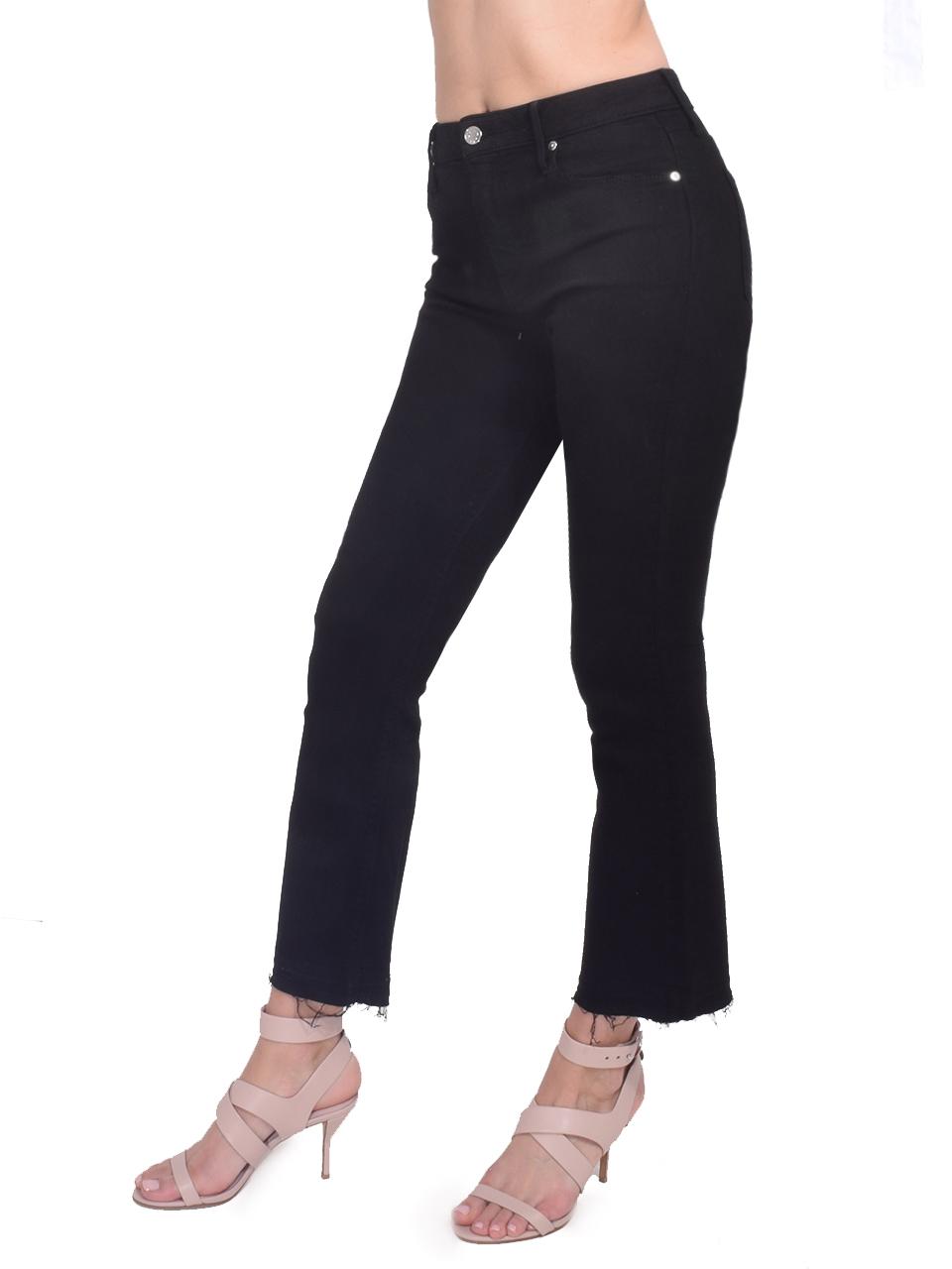 RtA Brandi Jeans in Max Black Side View