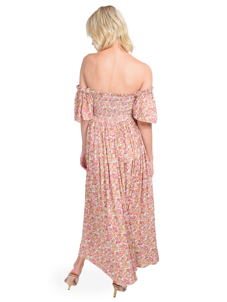 byTimo Smocked Bow Dress Back View