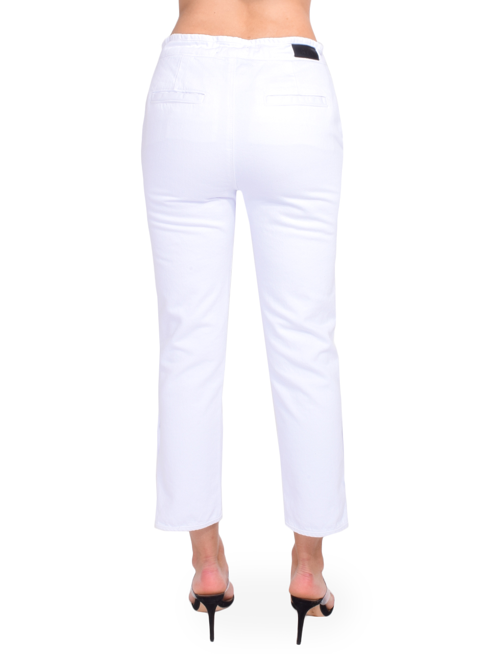 Matisse Pants in Optic White Back View