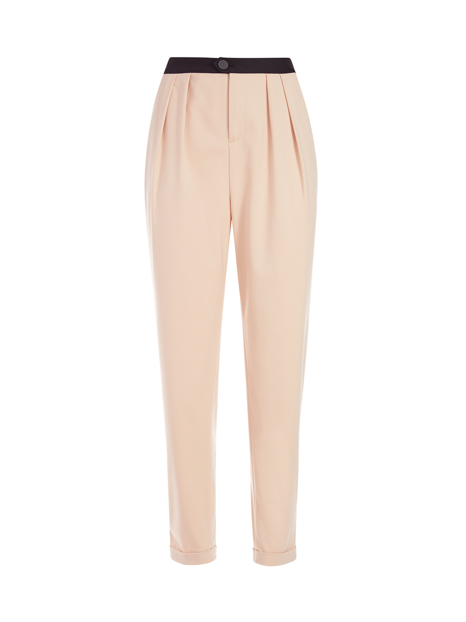 Alice + Olivia Roy Front Pleat Pant in Sepia Product Shot