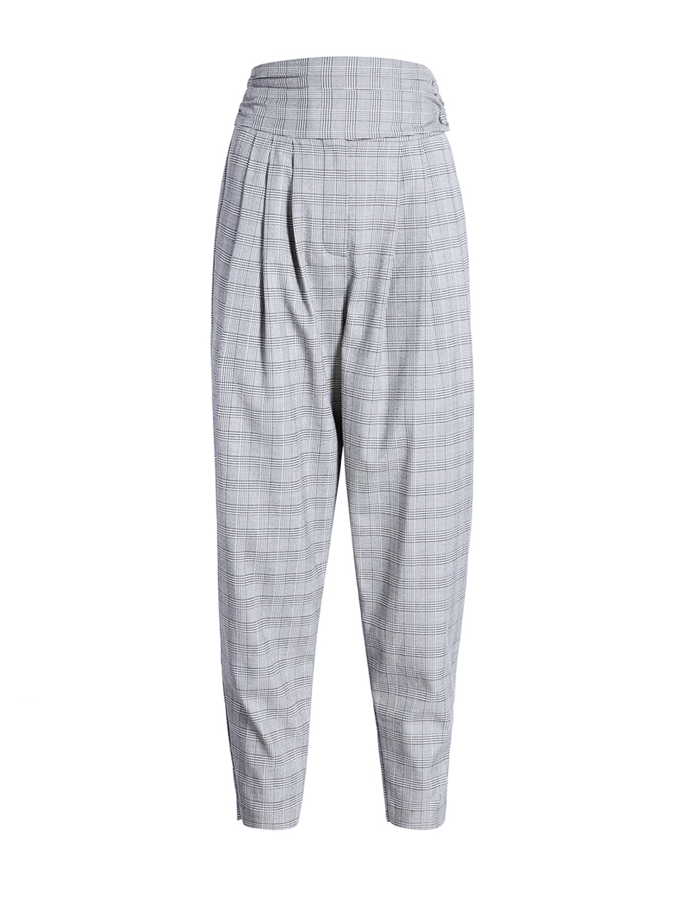 CINQ A SEPT Serenity Pant in Houndstooth Plaid Product Shot
