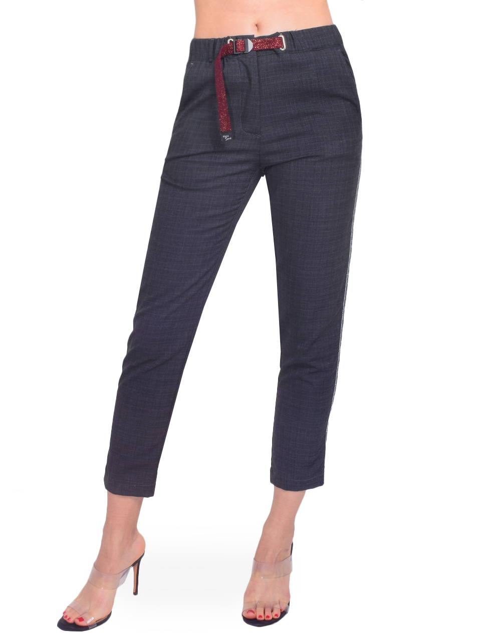 WHITE SAND Angelina Pant in Grey Plaid Front View X1https://cdn11.bigcommerce.com/s-3wu6n/products/33466/images/110653/90__18163.1602550108.244.365.jpg?c=2X2