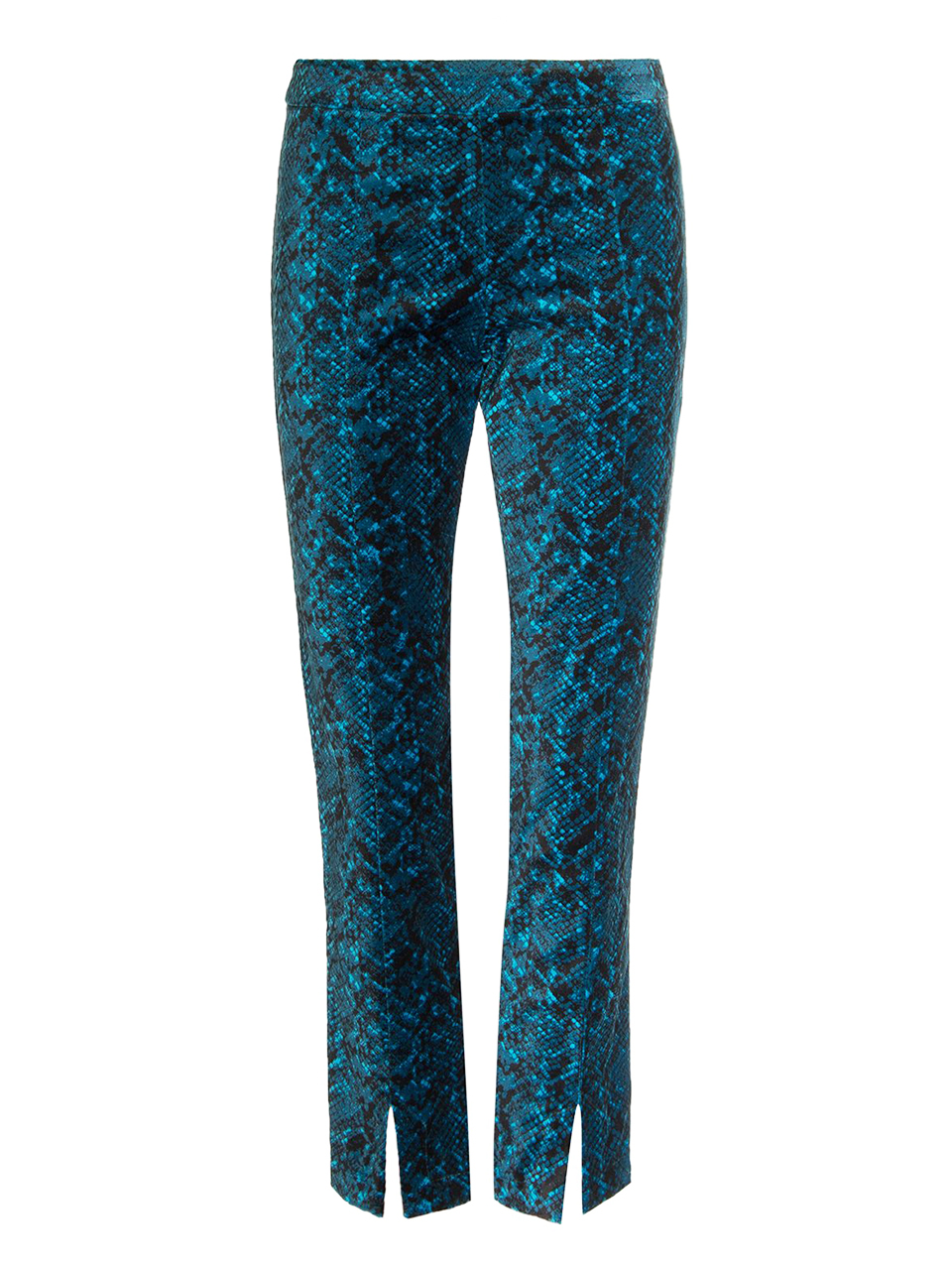 MISA Iris Pant in Teal Snake Product Shot