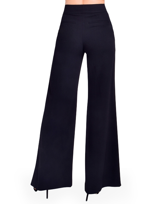 ALICE + OLIVIA Dylan Wide Leg Trouser Back View