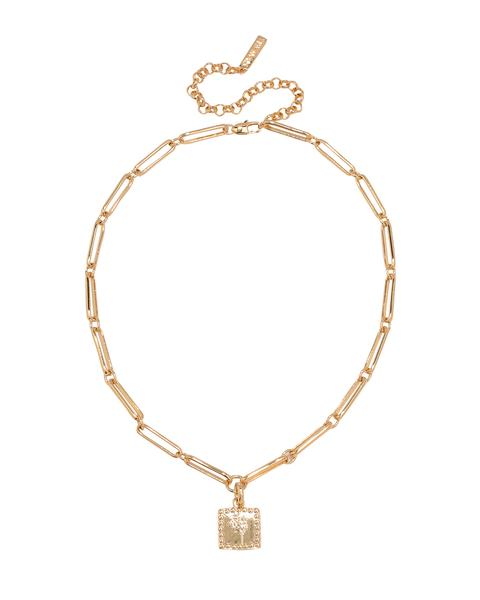 LUV AJ Roma Necklace in Gold Product Shot