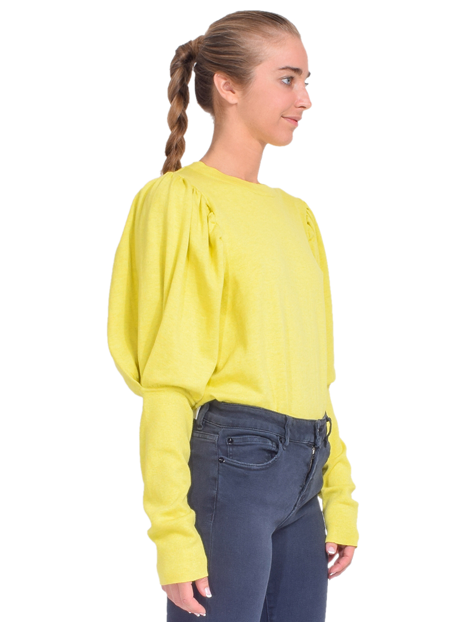 MISA Kali Sweater in Chartreuse