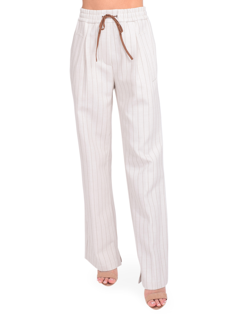 3.1 Phillip Lim Striped Track Pant in Ecru Front View  x1https://cdn11.bigcommerce.com/s-3wu6n/products/33766/images/112093/DSC_0204_Full__20198.1614651154.244.365.jpg?c=2x2