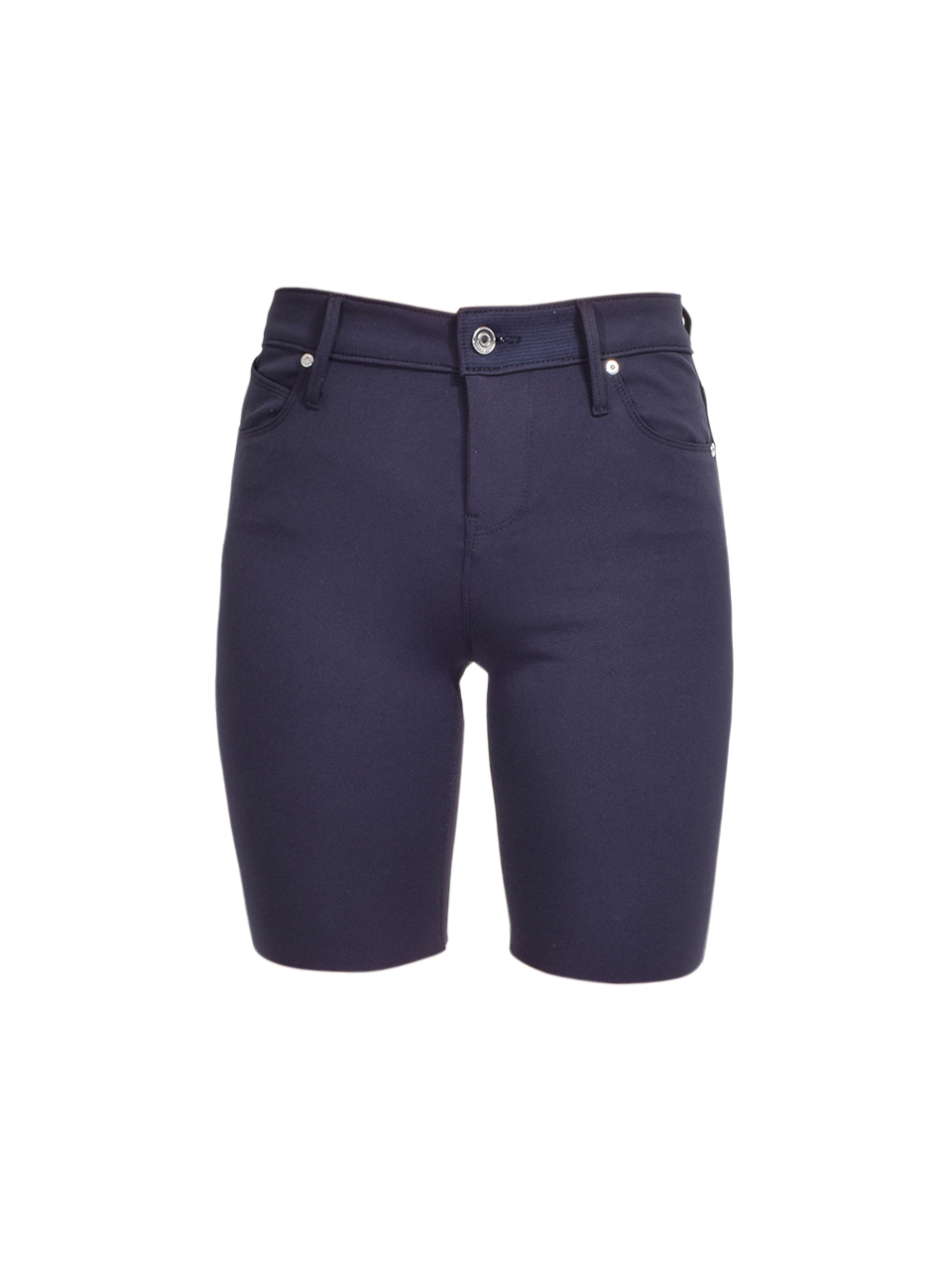 RTA Toure Cycle Short in Navy Product Shot