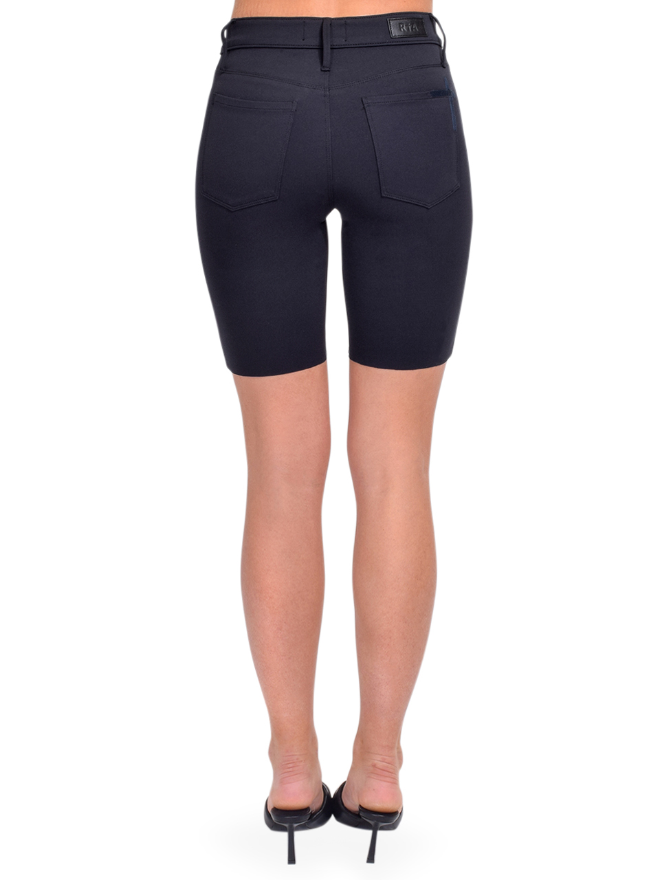RTA Toure Cycle Short in Navy Back View