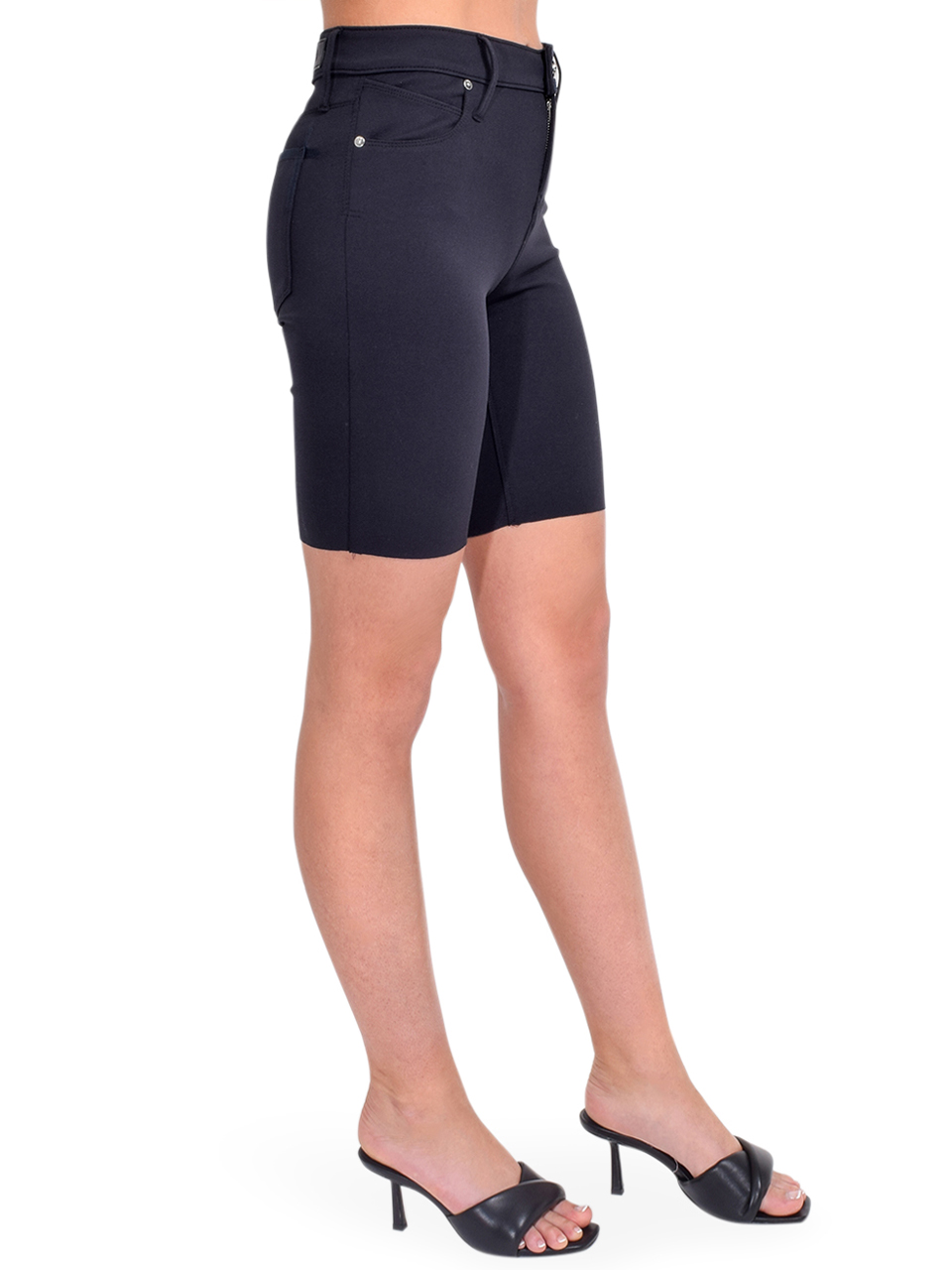 RTA Toure Cycle Short in Navy Side View