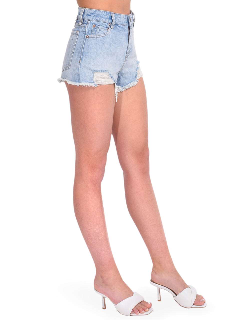 ALICE + OLIVIA Amazing High Rise Vintage Short Side View