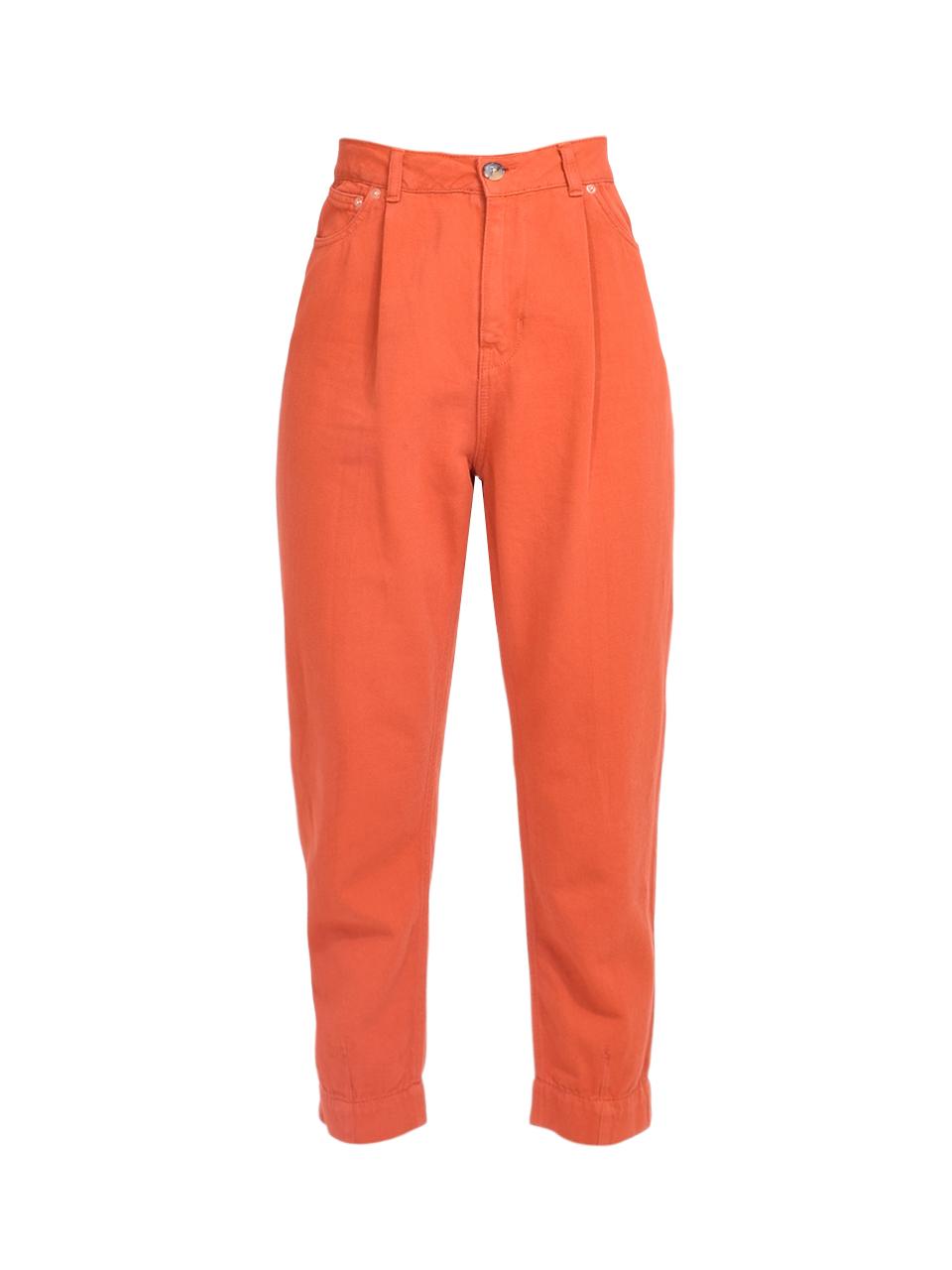 Bellerose Pleaty Jeans in Terracotta Product Shot