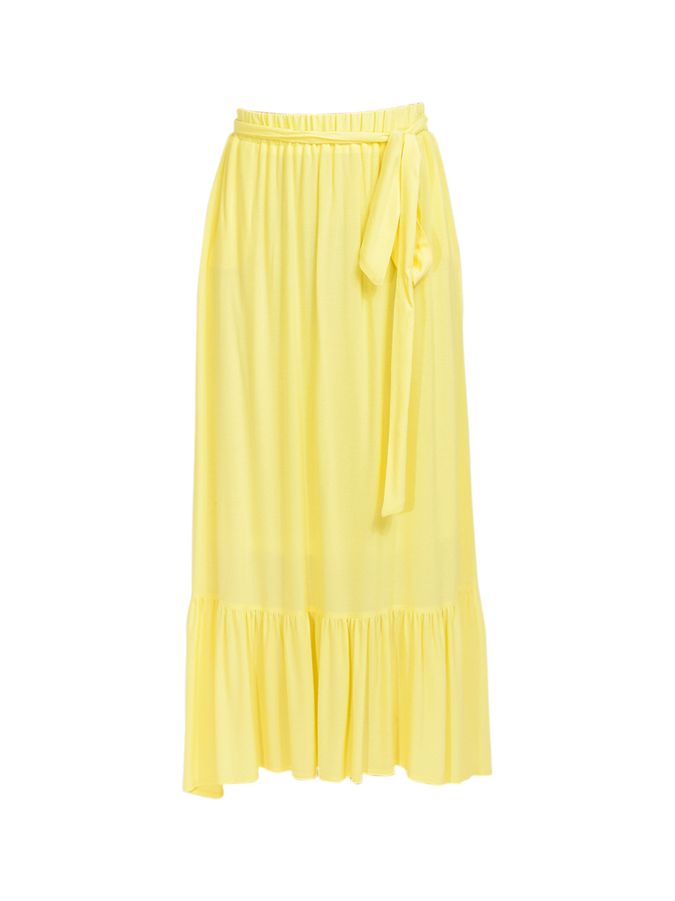 KASIA Sifnos Maxi Skirt in Yellow Product Shot