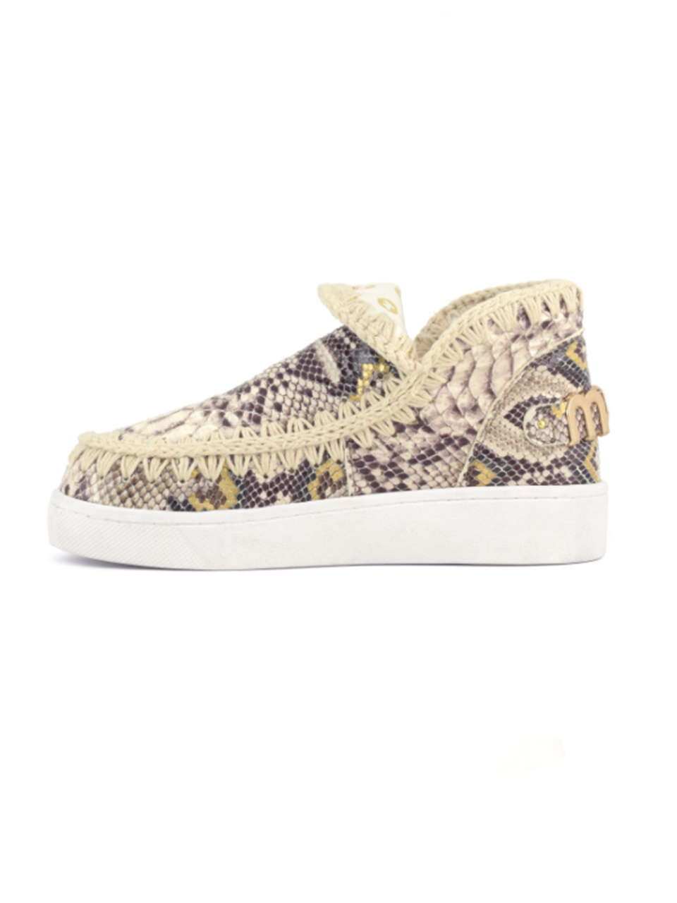 MOU Summer Eskimo Sneakers in Rock Snake Side View x1https://cdn11.bigcommerce.com/s-3wu6n/products/33987/images/113235/14__18612.1621283979.244.365.jpg?c=2x2