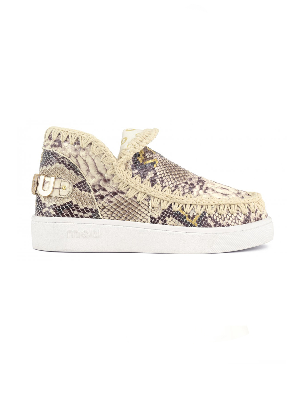 MOU Summer Eskimo Sneakers in Rock Snake Alternate Angle