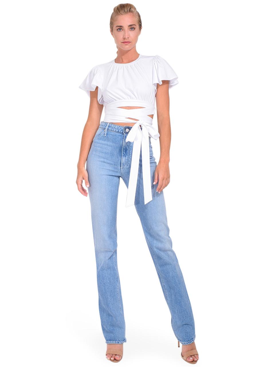 Gaia Jean in Logic Blue Full Outfit