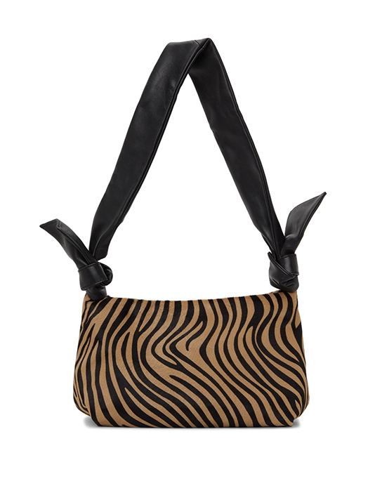 3.1 PHILLIP LIM Croissant Bag in Animal Print Front View