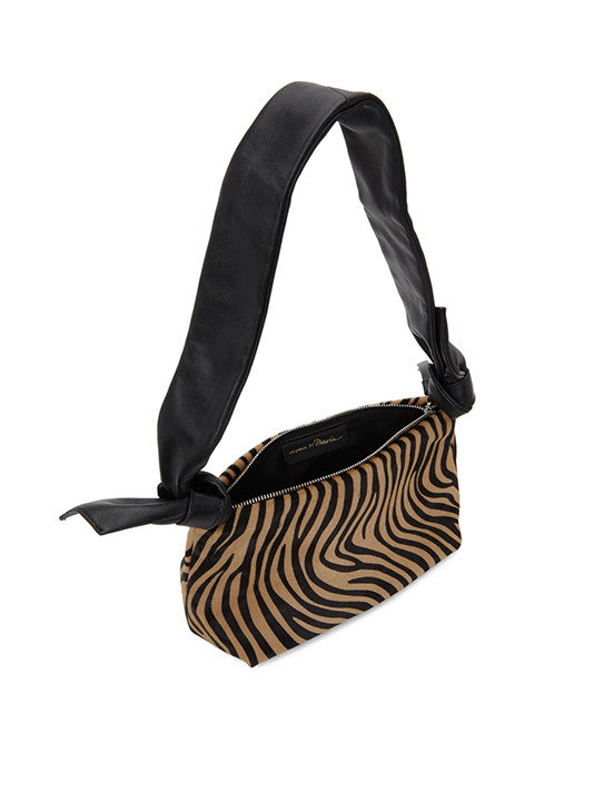 3.1 PHILLIP LIM Croissant Bag in Animal Print Top Side View
