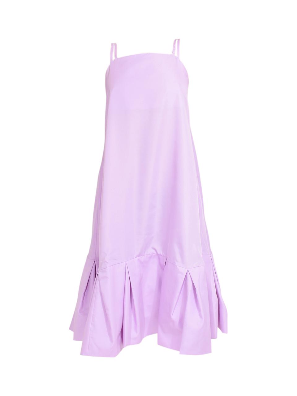 3.1 Phillip Lim Multi Strap A-Line Taffeta Dress in Lavender