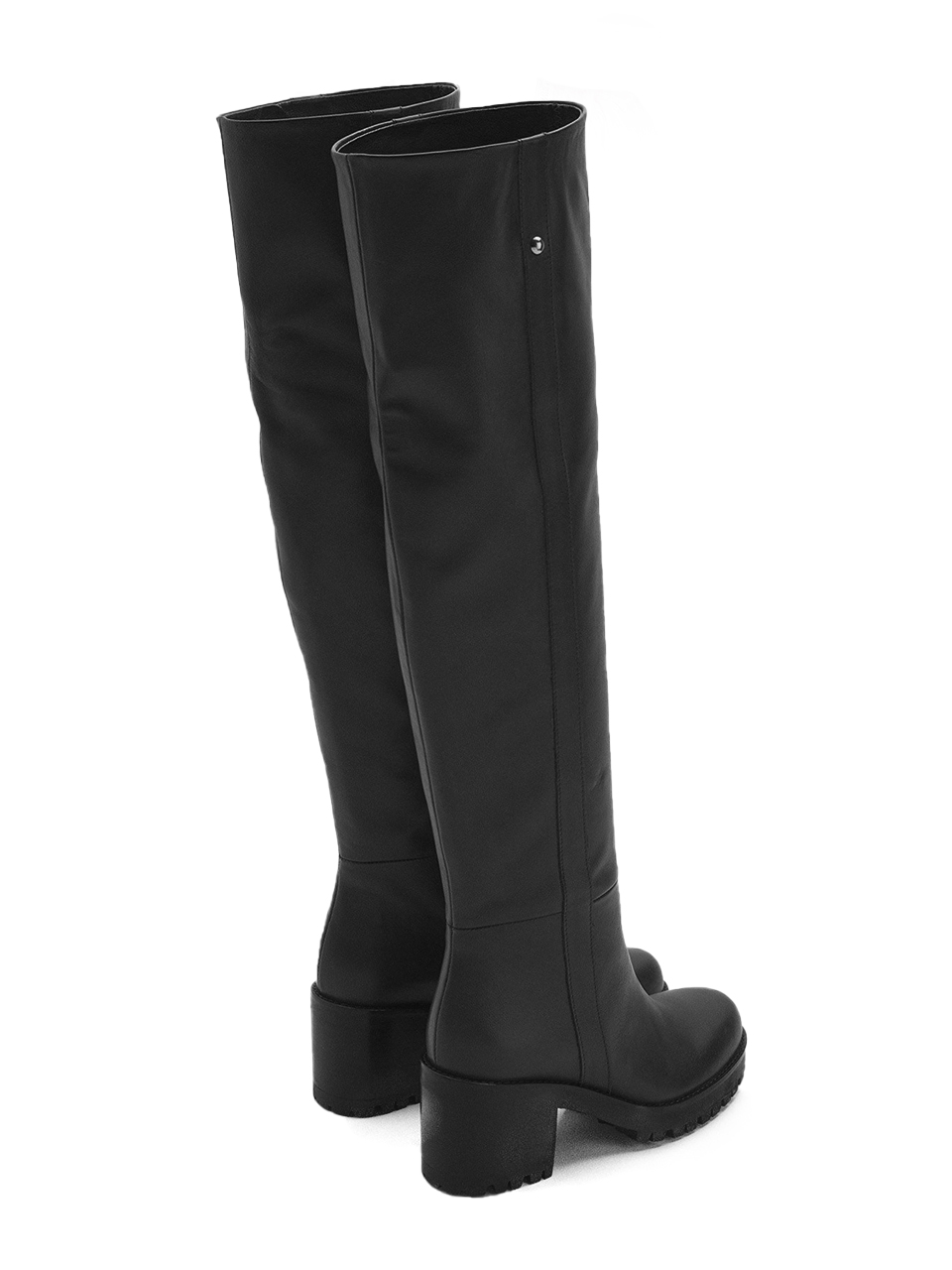 Ottod'Ame High Leg Boots in Black Back