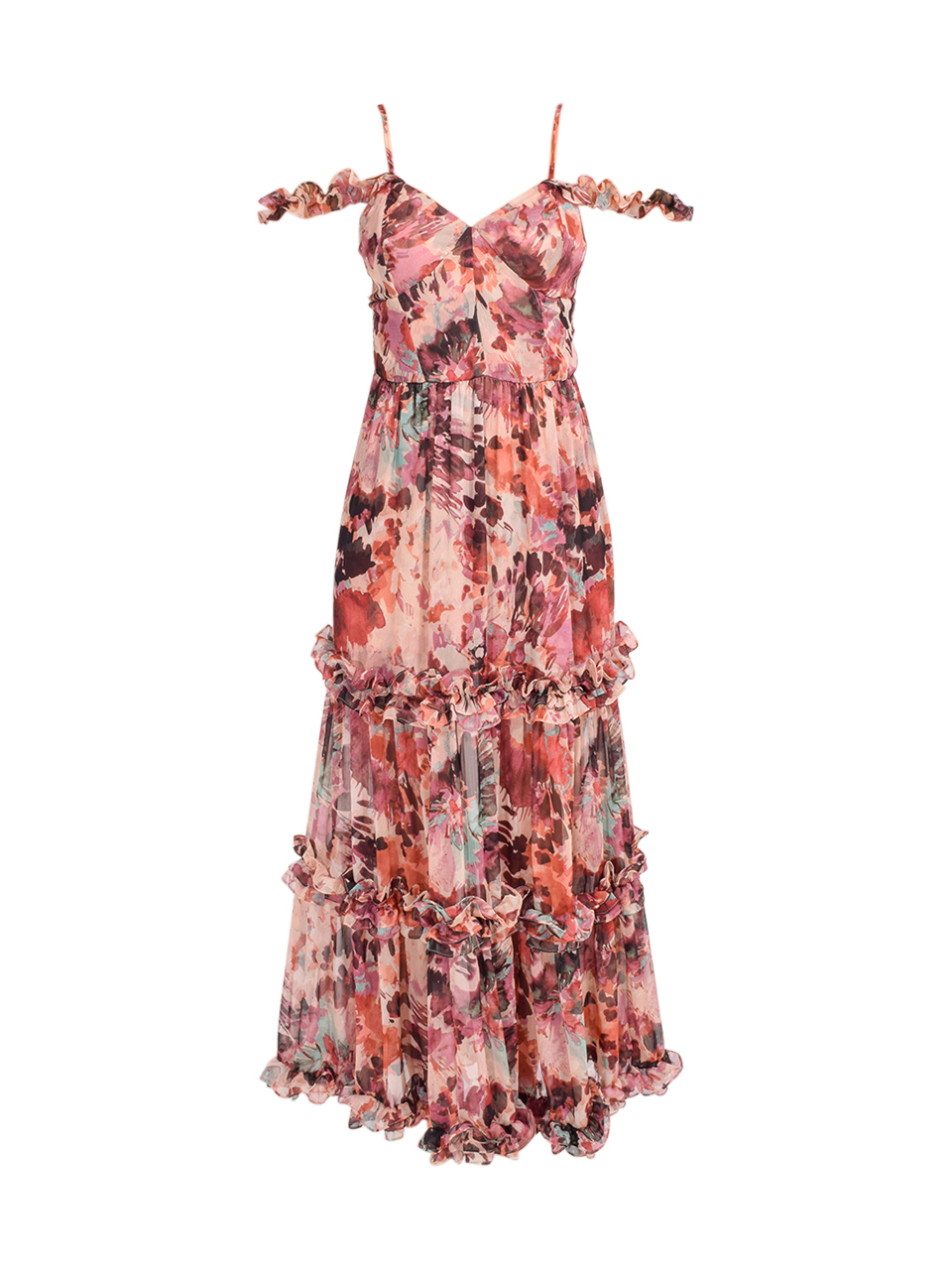 MISA Avery Maxi Dress in Floradream Product Shot