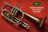 Martin Imperial Bb Cornet 197,XXX