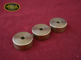 Harrelson Raw Brass 1/4 inch Bottom Cap Set - Olds