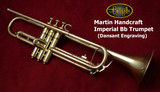 Martin Handcraft Imperial Trumpet (Dansant Engraving)