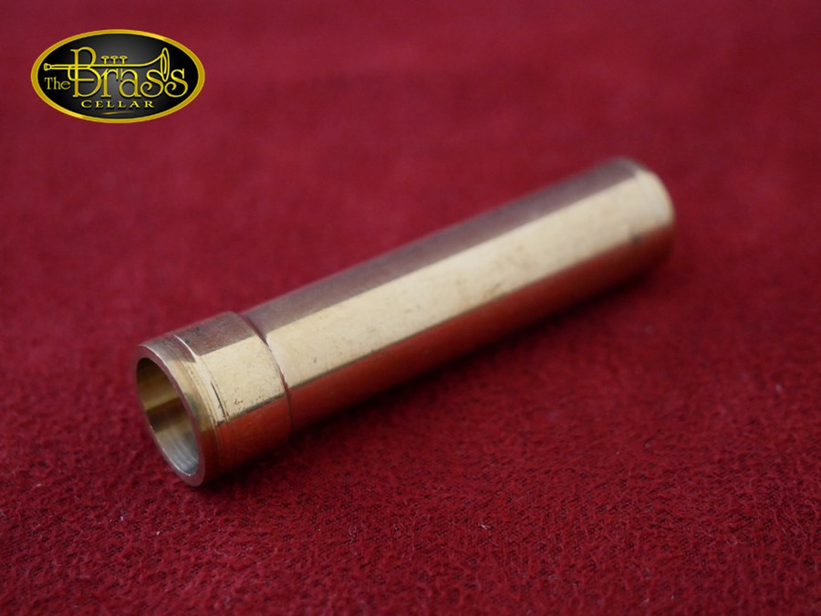 Trumpet Mouthpiece Receiver - Raw Brass