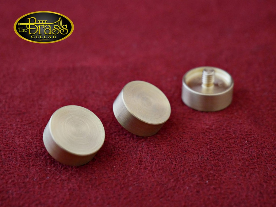 Harrelson Raw Brass Finger Buttons - Olds