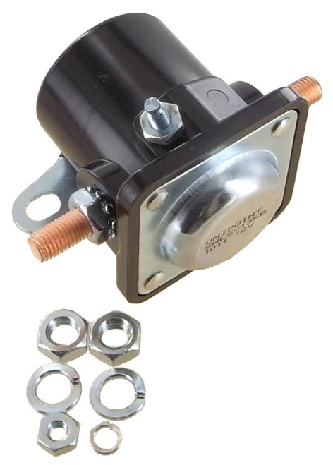 Solenoid Fits Meyer Rated for 150 Amps, 3 Terminals, 12 Volt, Plastic Case