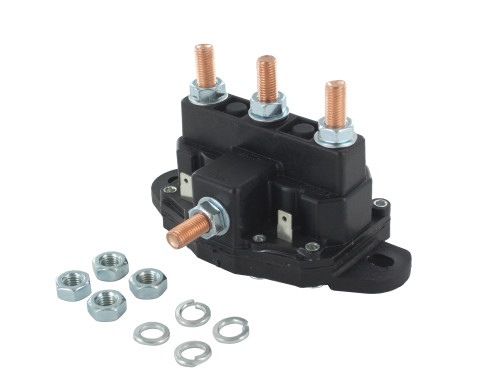 New Winch Motor Reversing Solenoid Contactor Relay 6 Terminal Trombetta Style Large