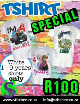 Kiddies TShirt Special