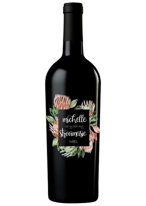 Personalised Winebottle