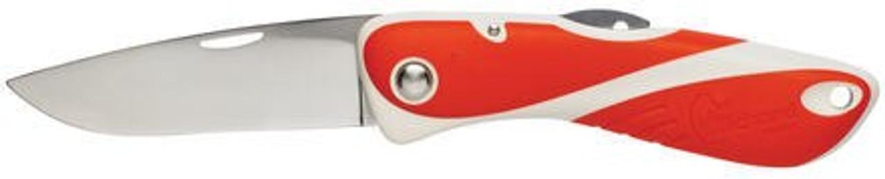 Wichard Aquaterra Plain Blade Knife - Red