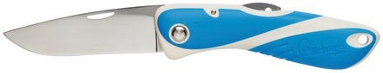 Wichard Aquaterra Plain Blade Knife - Blue
