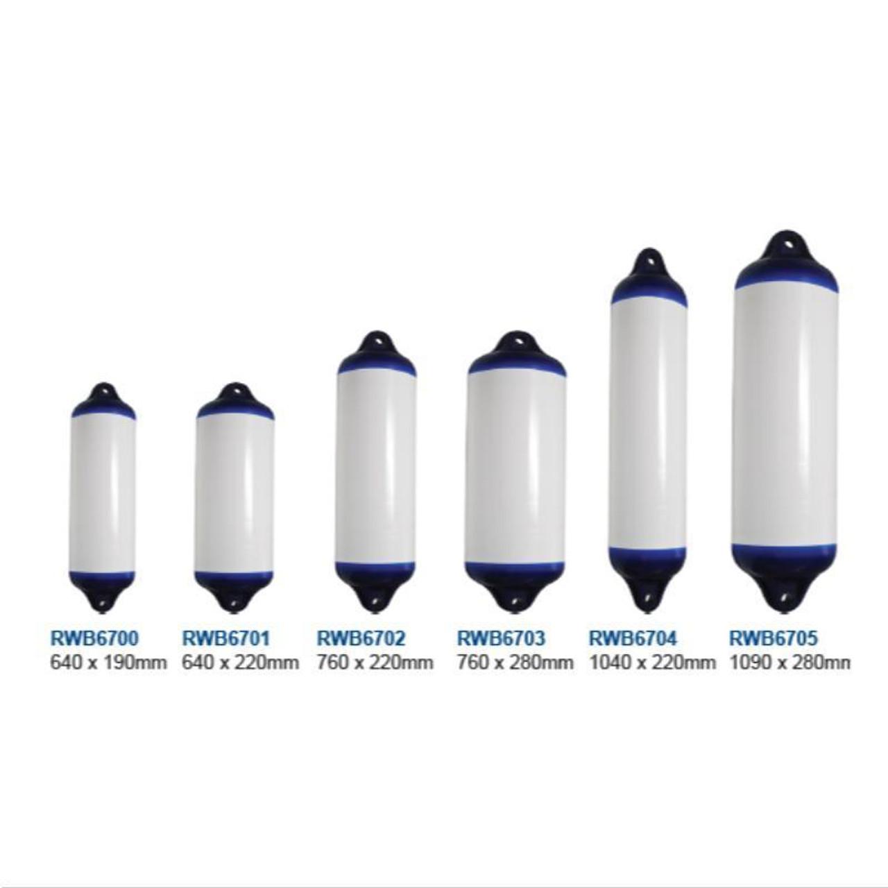 RWB Ocean Heavy Duty Fenders (RWB6700-RWB6705)